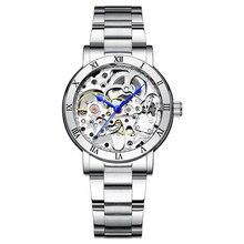Ik 2020 Nieuwe Mode Automatische Mechanische Vrouwen Horloge Hollow Skeleton Volledige Staal Ol Dame Horloge Vrouwen Montre Femme Orologio Donna