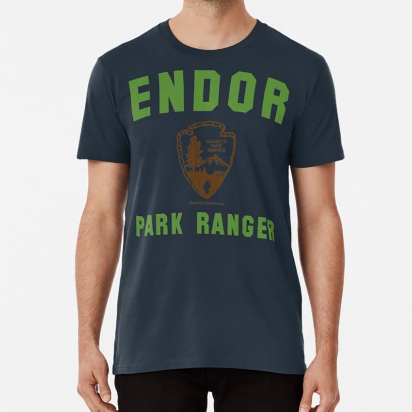 Endor Park Ranger T Shirtt camisa El retorno del Jedi Endor los Ewoks.