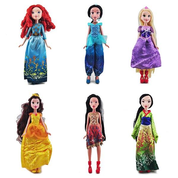 Новое поступление, веселая Мерида, Спящая красавица, Аврора, Мулан, Pocahontas, принцесса, совместный игровой домик, кукла, дети, девочка, подарок на день рождения