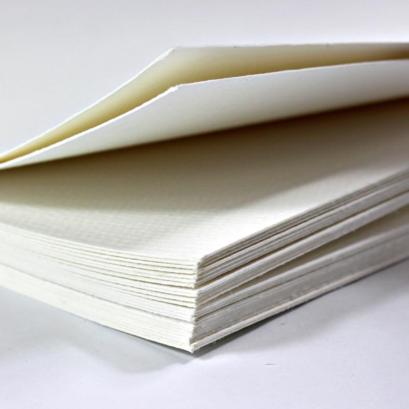 Акварельная бумага плотная бумага для рисования бумага s для художника хлопковая целлюлоза Акварельная бумага с тремя текстурами товары дл...