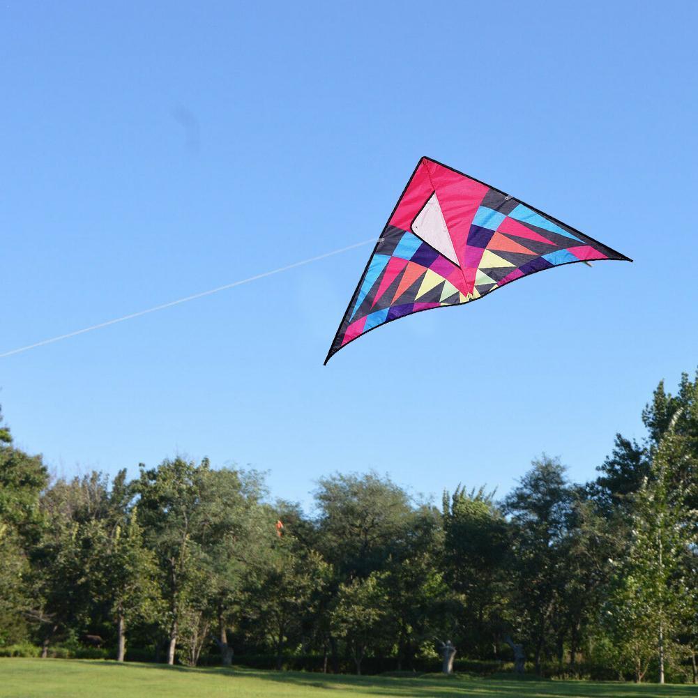 Фото - Нейлоновый Радужный воздушный змей Ripstop, летающие игрушки, змей, игрушки-драконы, воздушный змей до 30 м, хороший Летающий ветрозащитный змей ... огненный змей