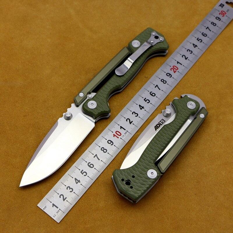 LOVOCOO AD15 складной нож для ежедневного использования, D2 стальное лезвие + G10 ручка на открытом воздухе, для альпинизма, рыбалка Фруктовый нож тактика инструмент повседневного ношения
