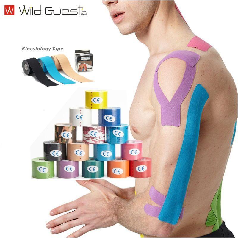 2-размерная кинематическая лента, ремень для упражнений, ремешок для восстановления упражнений, лента для защиты колена для бега, фитнеса