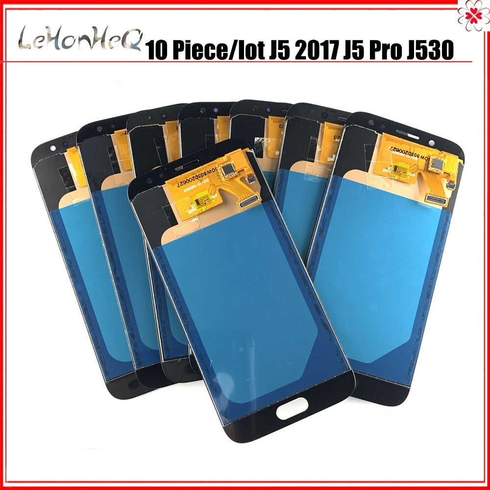 مجموعة شاشة LCD تعمل باللمس ، لهاتف Samsung galaxy J5 Pro J530 J530F ، 10 قطع ، بالجملة