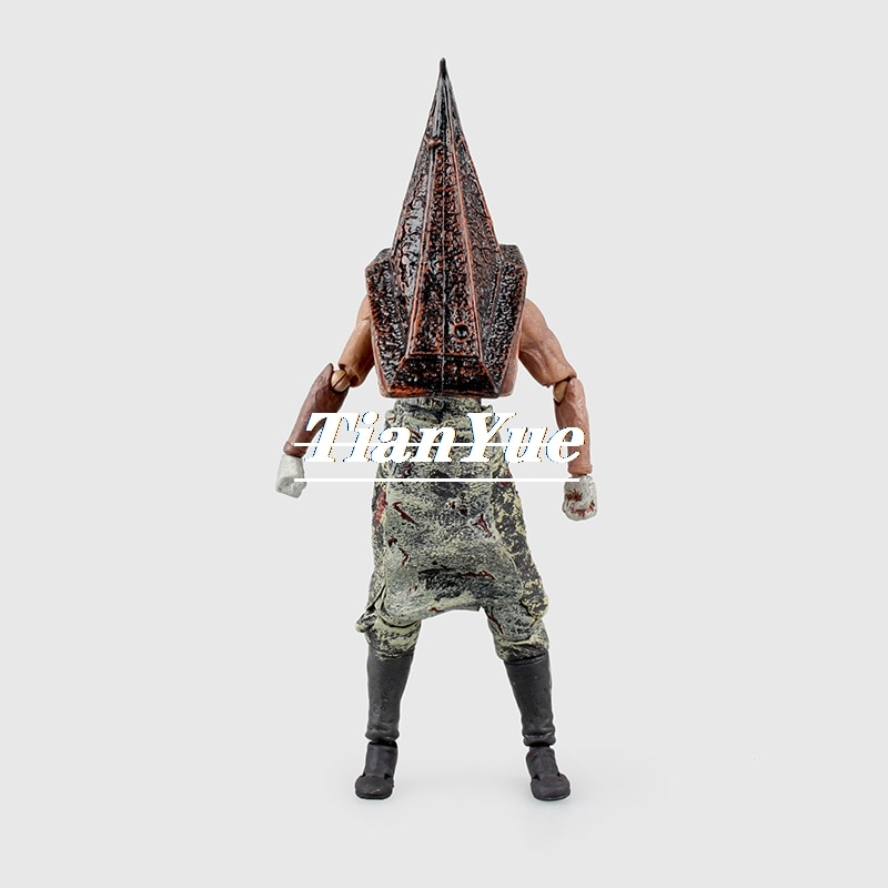Figma SP 055 Red Pyramid Thing big Iron head Action Figure Model Toy 17cm