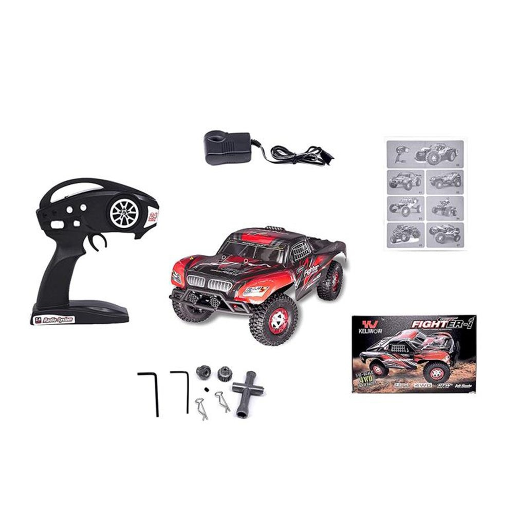 TOYS RC Car 9125 2.4G 1:10 1/10 Scale Racing Car Supersonic Truck Off-Road Vehicle Buggy Electronic Toy