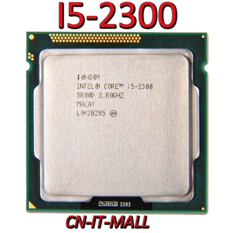 Gezogen I5-2300 CPU 2,8G 6M 4 Core 4 Gewinde LGA1155 Prozessor