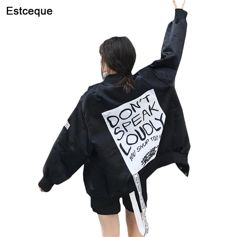 Jaquetas femininas 2020 nova moda jaqueta básica feminina fina menina blusão outwear bombardeiro feminino longo casaco