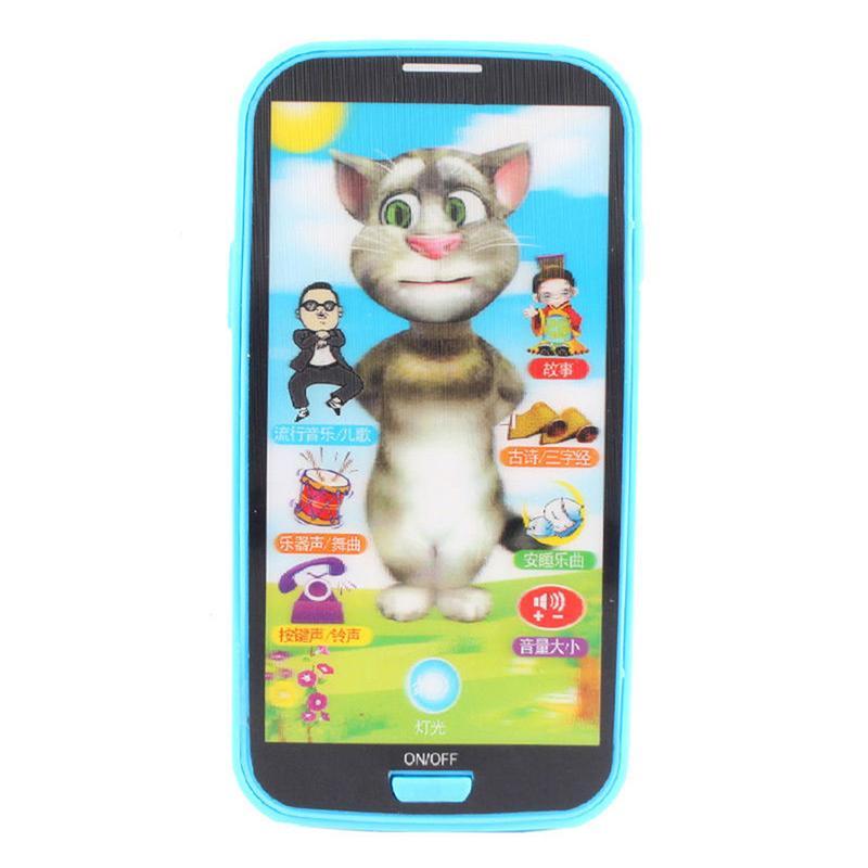 Обучающий телефон для детей, английский Обучающий телефон, подарок, музыка, игрушки для телефона, симулятор для детей, обучающая игрушка, эк...