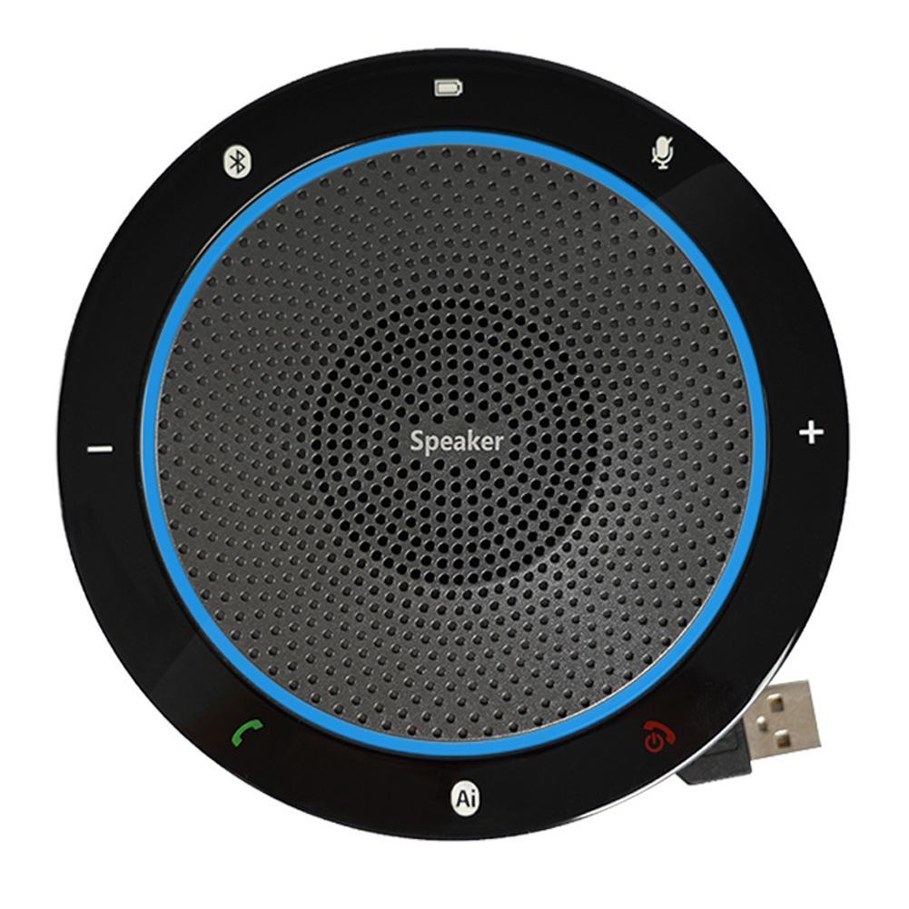 Bluetooth 360 ° de Audio camioneta macho y de escritorio Conferencia micrófono USB Omni-dirección de recogida altavoz dropship