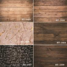 Shuozrandonnée vinyle personnalisé photographie décors accessoire planches de bois thème photographie fond #0081