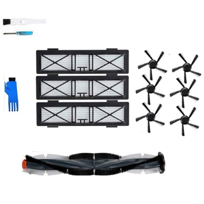 مرشح فرشاة جانبي رئيسي لنيتو بوتيفاك D85 D3 D5 D7 متصل D سلسلة جهاز آلي لتنظيف الأتربة إكسسوارات