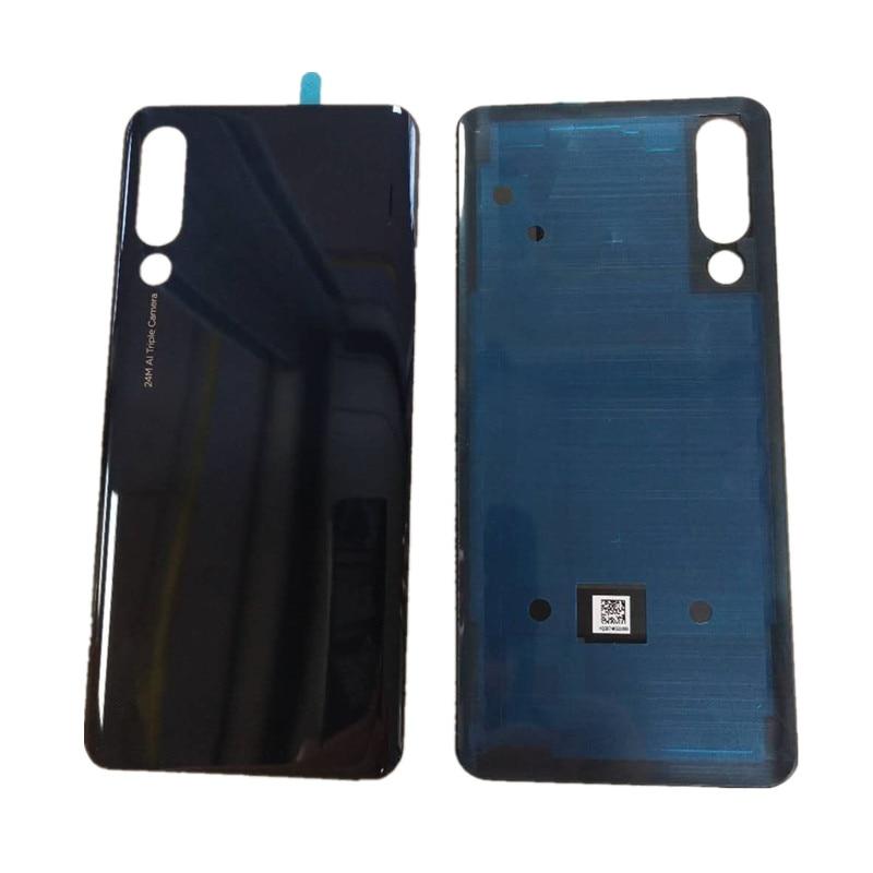 Carcasa Original Z 6 para Lenovo Z6, cubierta de cristal para batería, repuesto de reparación, funda trasera para teléfono y pegatina con logotipo