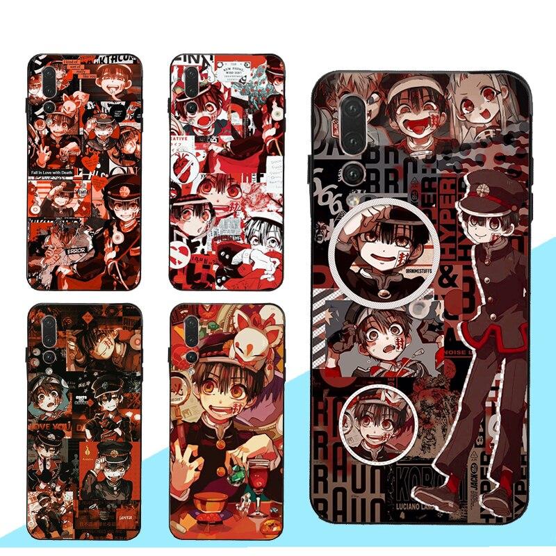 Jibaku Shounen Hanako kun Case for Huawei Honor 8X 9X 8A 10i 9 10 20 Lite 7C 7A Pro 8C 8S Nova 5T Y6 Y9 Y7 2019