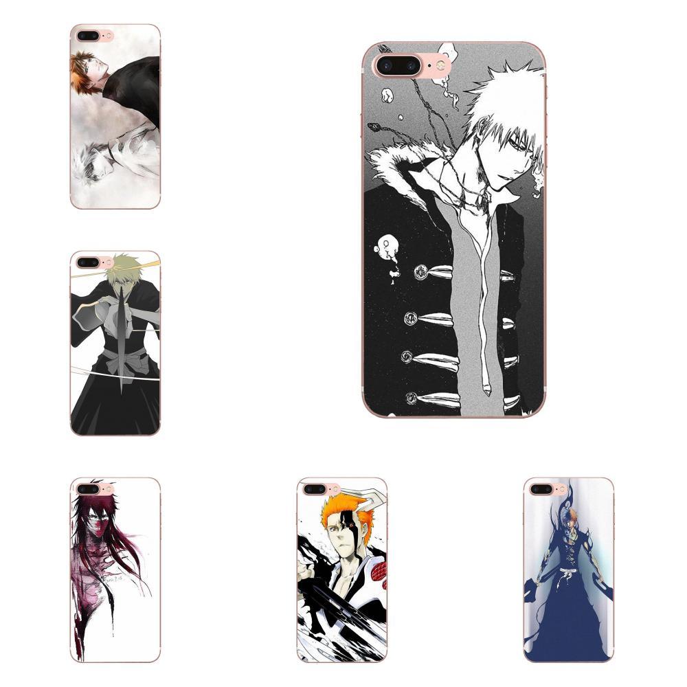 Blanqueador Ichigo Kurosaki para Huawei Nova 2 V20 Y3II Y5 Y5II Y6 Y6II Y7 Y9 G8 G9 GR3 GR5 GX8 primer 2018 Vertical 2019 caja del teléfono