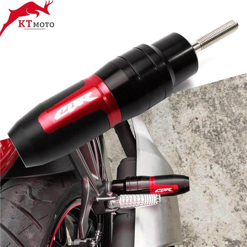 ملحقات CNC للدراجات النارية ، لـ CBR250R ، CBR300R ، CBR500R ، CBR600F ، CBR650F ، الحماية من السقوط ، العادم ، تحطم المنزلق