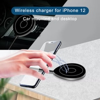 15W Magnetic Car Wireless Charger Mount for iphone 12 Pro 12 Max Xiaomi holder fast charging Magnetic Car Airvent Charger Stand