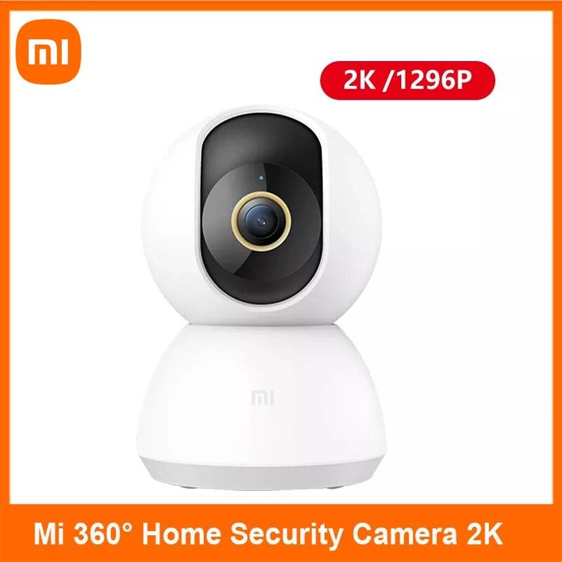 كاميرا شاومي ميجيا الذكية 2K 1296P 360 زاوية فيديو CCTV واي فاي كاميرا ويب لاسلكية للرؤية الليلية كاميرا أمن مي هوم مراقبة الطفل