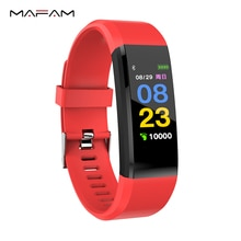 MAFAM Smartwatch Women Wrist Watch Blood Pressure Smart Fitness Band Health Wristband Smartband Sleep Tracker Sport Bracelet