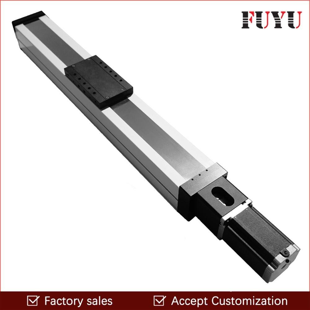 200mm curso linear slide guia trilho bola parafuso movimento estágio atuador tabela carga pesada para cnc gravura máquina de perfuração