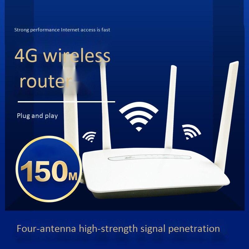 راوتر لاسلكي Cpe 4G Lte ، 150 ميجابت في الثانية ، 3G/4G ، نقطة اتصال محمولة ، 4 هوائيات خارجية مع منفذ Lan ، حتى 32 مستخدمًا لشبكة Wifi