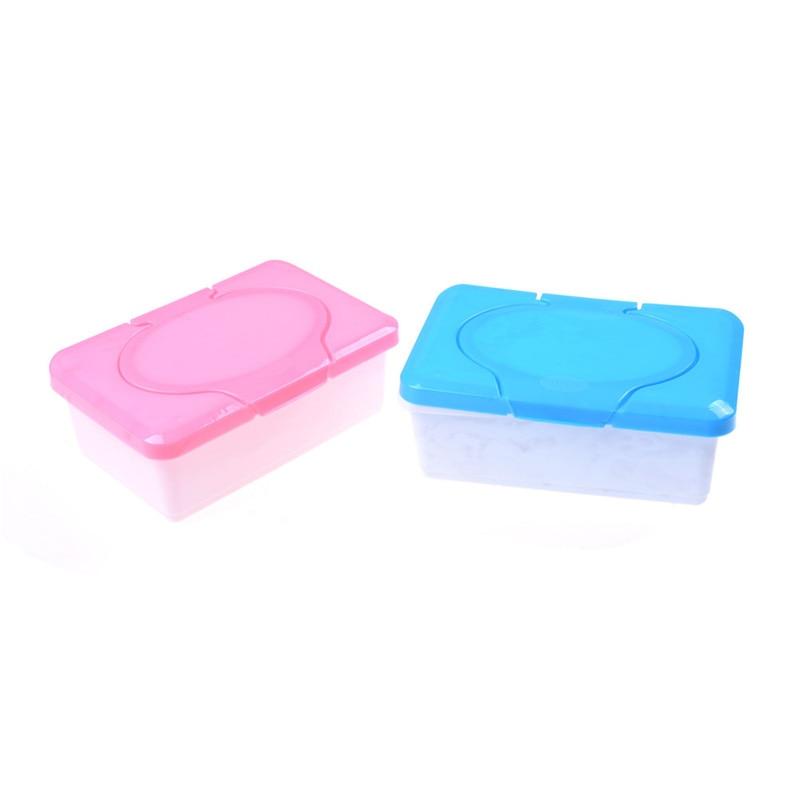 Wipes Box Plastic Wet Tissue Automatic Case Arrival Pop-up Design Tissue Case Baby Wipes Storage Organizer Box