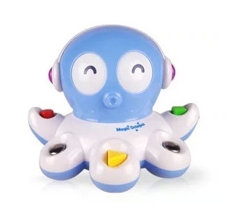 Toy Sea Life Cute Octopus With Light Music Intelligent Tool New Year Baby Gift Toys Mother Plastic