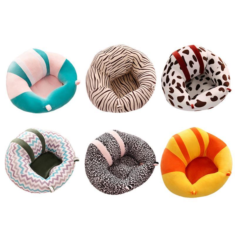 43/43/20cm assento de apoio do sofá do bebê cadeira de pelúcia confortável ninho da criança berço macio bonito do coxim do algodão para crianças dropshiping