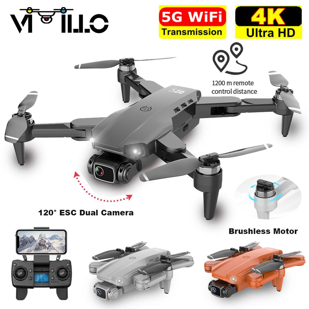 New L900 Pro GPS Drone 4K Professional HD Dual Camera 5G WIFI FPV Dron 28min Flight Distance 1.2km Brushless Motor Quadcopter S4