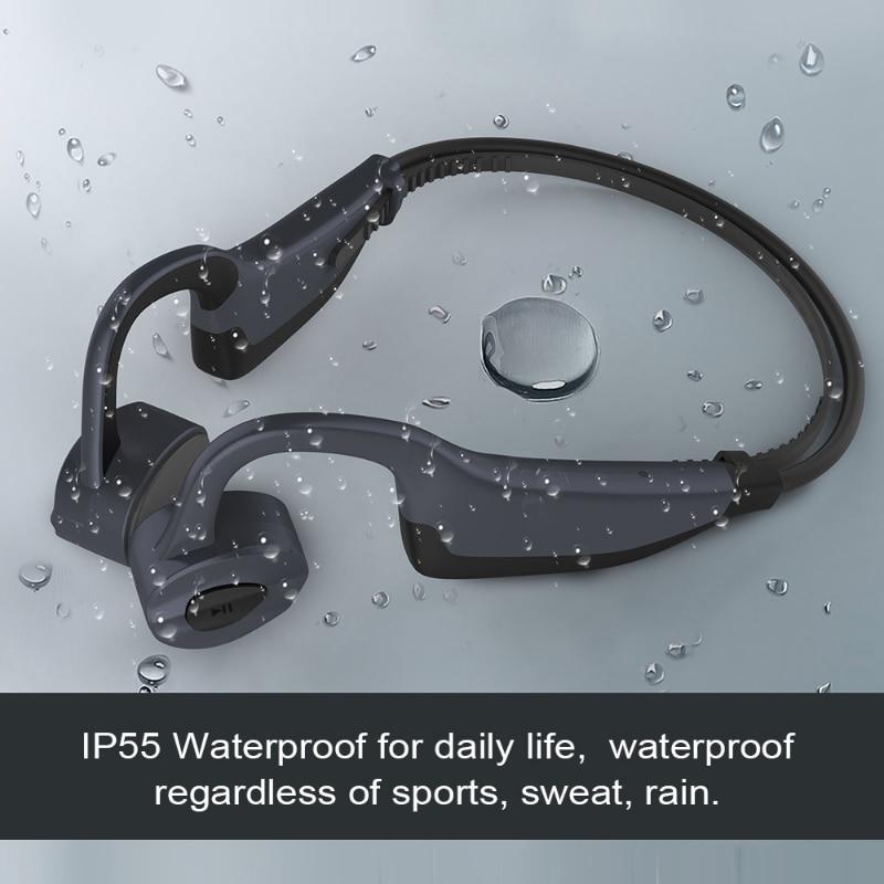 IWO PRO K7 Bone Conduction TWS Wireless Headphones Bluetooth 5.0 Headset IP55 Waterproof Running Headphone Hands-free With Mic enlarge