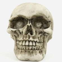 A large skull  Creative 3D Micro Landscape Resin Crafts  Features Home Decortion Business Gifts