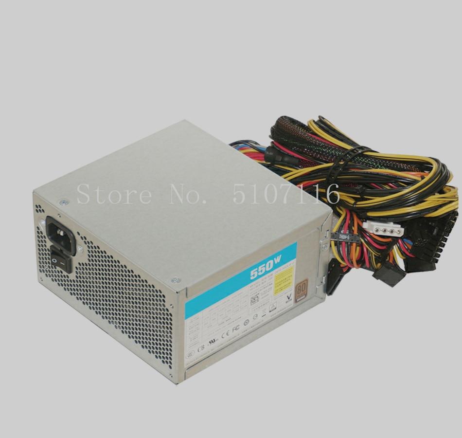Fuente de alimentación GPS-550LBG para estación de trabajo Original de 550W