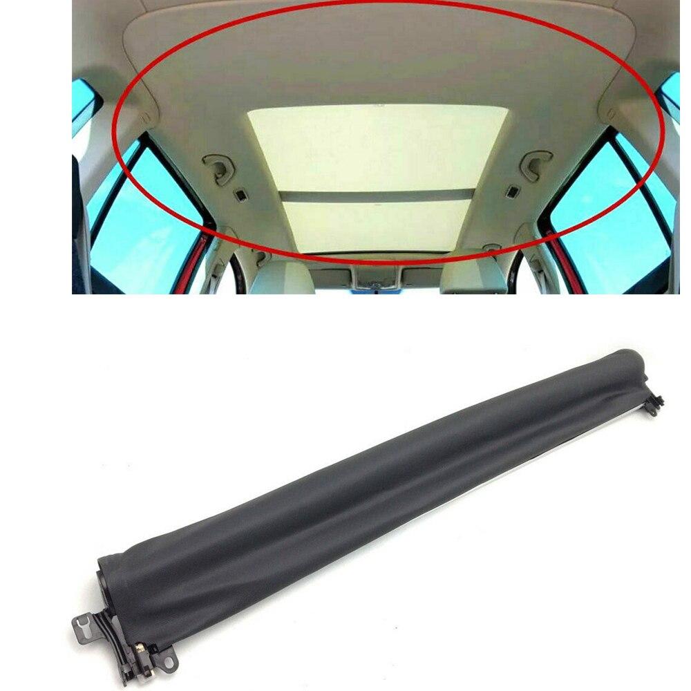 فتحة سقف السيارة 7P0877307C لفولكس واجن طوارق 2011-2018 الأسود الداخلية قبة الشمس غطاء النافذة سقف بكرة ستائر الظل أعمى