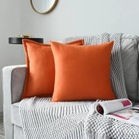 set of 2 antique soild color woolen pillowcase mordern nordic pillow cover woolen cushion cover home decoration for sofa