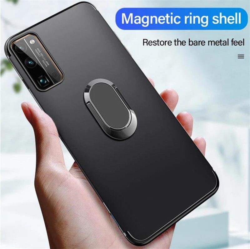 Soporte de dedo funda, soporte para LG Q61 Q70 C40 Leon 4G...