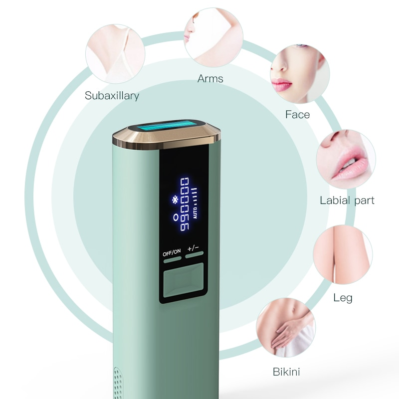 990000 Ice Flashes Laser Hair Removal Device Painless Freezing Point Portable Bikini Trimmer Permanent Hair Remover IPL Epilator enlarge