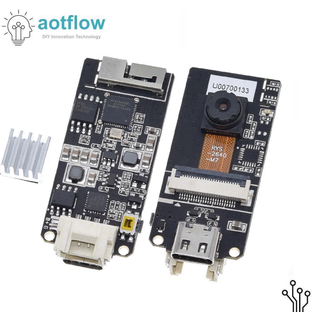 M5stack oficial esp32 câmera placa de desenvolvimento ov2640 tipo de câmera-c grove porto 3d antena wifi mini câmera placa esp32 aotflow