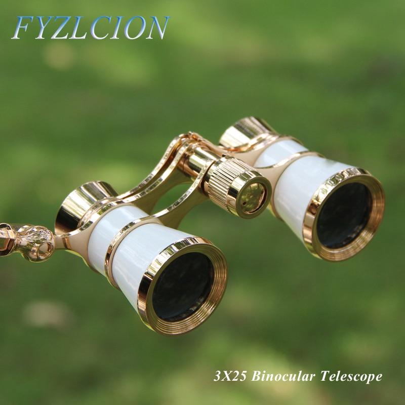 4 tipos de gafas Binocular 3X25 de Carreras de Caballos de teatro...