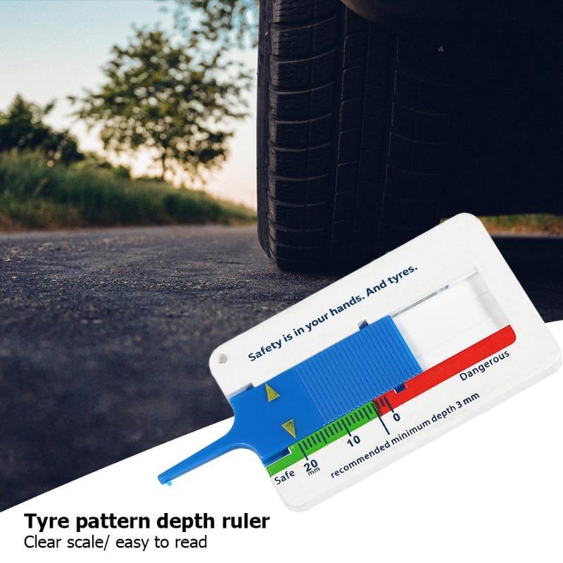 De 0 a 20mm para llanta de coche automática, deptómetro de rodadura, indicador de profundidad, medidor de calibre para remolque de motocicleta, furgoneta, herramientas de medida, herramientas de reparación de neumáticos