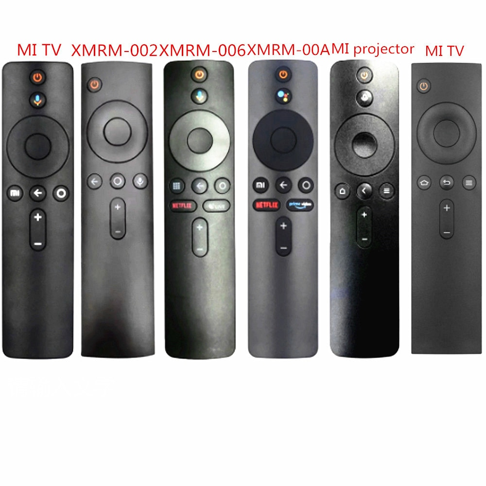 For Xiaomi Mi TV Box S BOX 3 BOX 4X MI TV 4X Voice Bluetooth Remote Control with the Google Assistant Control