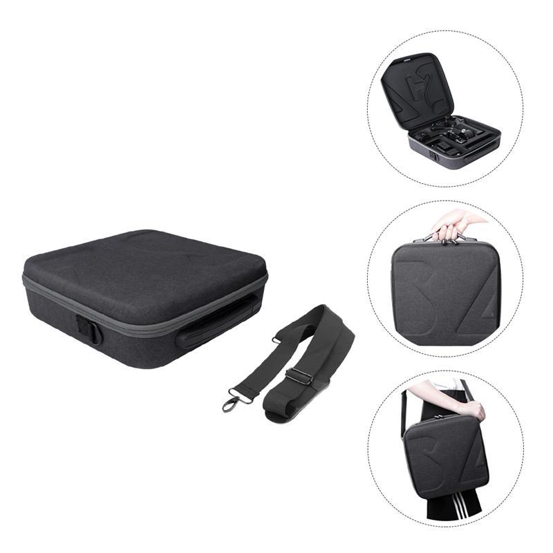 1pc cardan caso durável eva resistente ao desgaste caixa dura saco compatível com dji rsc 2