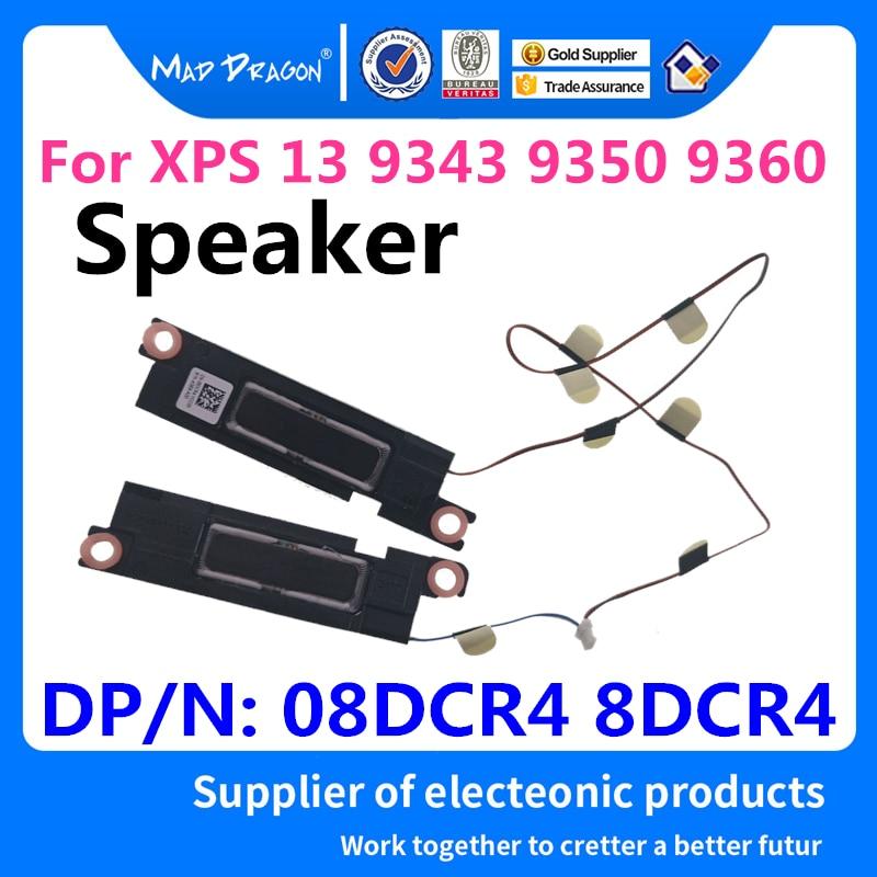 Mad Dragon Merk Laptop Nieuwe Speaker Set-R + L Links Rechts Voor Dell XPS13 Xps 13 9343 9350 9360 Speaker PK23000PJ00 08DCR4 8DCR4