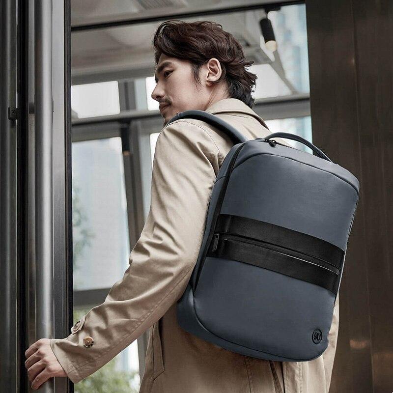 Mochila Casual de negocios para hombre, Mochila para ordenador portátil de 15,6 pulgadas, Mochila urbana para hombre, mochilas de viaje impermeables de alta calidad