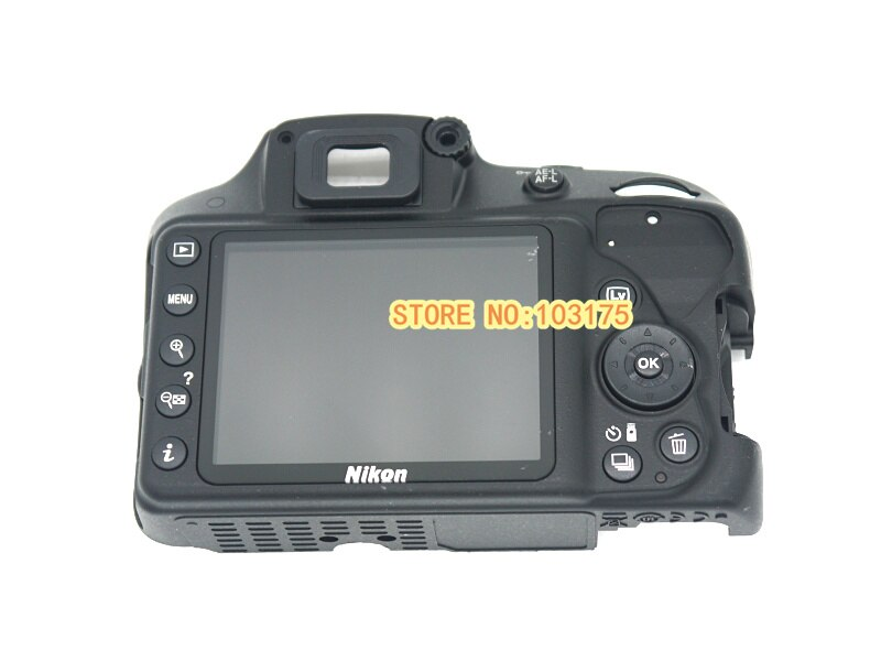 Оригинальная задняя крышка для Nikon D3300 с ЖК-экраном, гибким кабелем, кнопкой в сборе для ремонта камеры