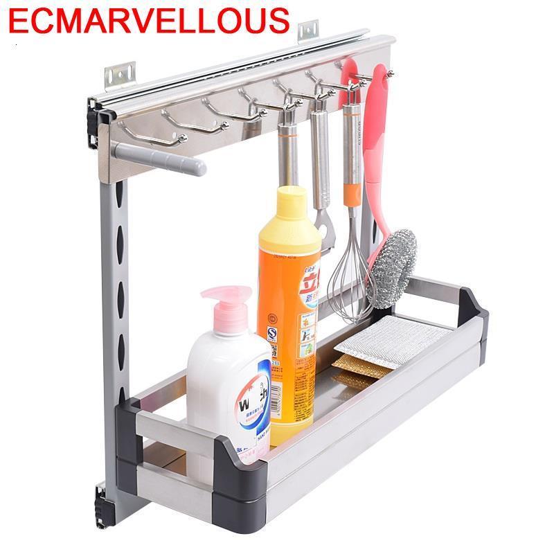 درج إكسسوارات من الفولاذ المقاوم للصدأ ، خزانة مطبخ ، سلة تخزين