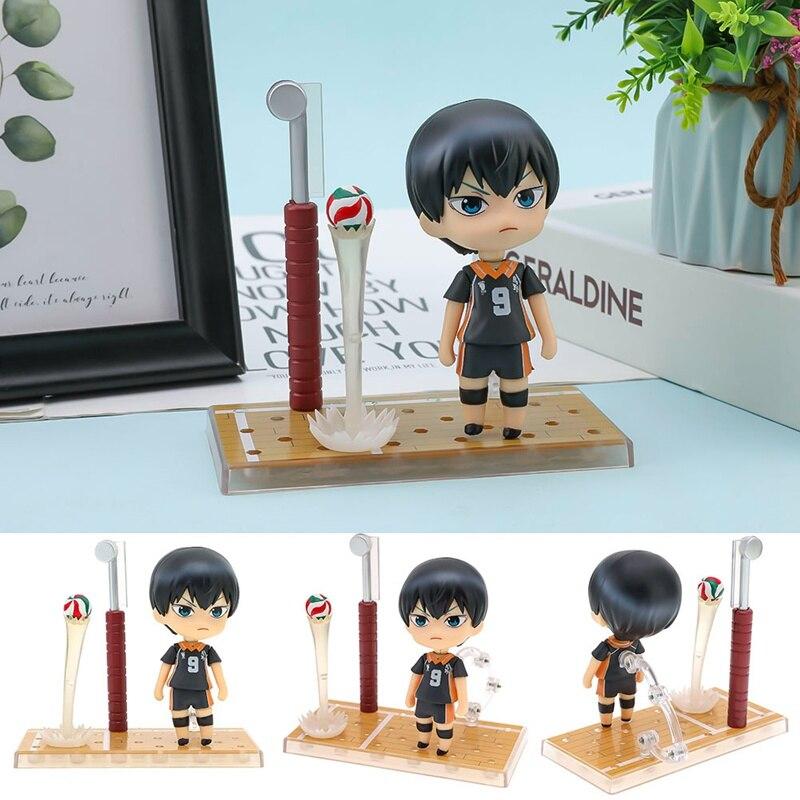 Haikyuu Kageyama tobio #489 figura de acción número 9 figura de Anime Hinata Syouyou lindos juguetes para niños modelo de deporte muñeca