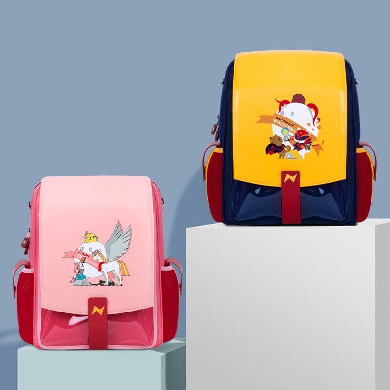 рюкзак школьный NOHOO ортопедический начальной школы для девочек и мальчиков рюкзак детский водонепроницаемый детский школьный рюкзак из ис...