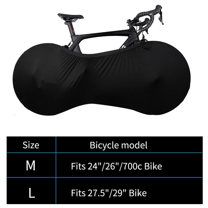 אופני מגן כיסוי MTB כביש אופניים ציוד מגן נגד אבק גלגלי מסגרת כיסוי שריטה הוכחה אחסון תיק רכיבה על אופניים אבזרים