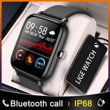 LIGE New Fashion Smart watch men Heart rate Blood pressure multifunctional Sports watch men And wome