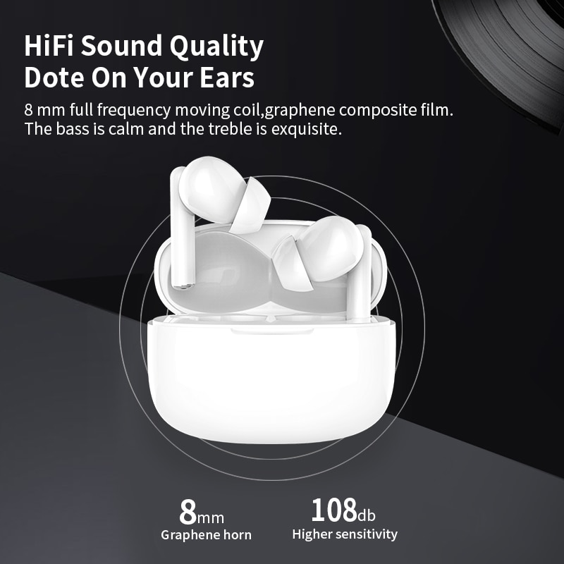Fone de ouvido Wireless Headphones Bluetoothcompatible IPRO K1Pro Touch Control Waterproof For Xiaomi sem fio Earbuds enlarge